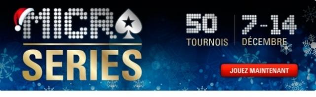6e édition Des Micro Series Sur PokerStars