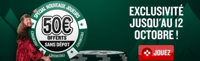 Everest Poker Offre 50€ Sans Dépôt