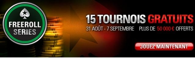 Freeroll Series Avec PokerStars