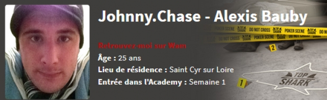 Interview D'Alexis » Johnny.Chase» Bauby Candidat à la Top Shark Academy