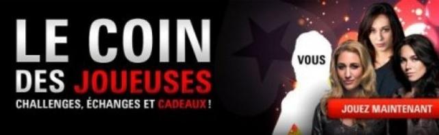 Le Coin Des Joueuses : PokerStars en Opération Séduction