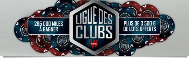 Ligue Des Clubs Sur Winamax : Première Manche