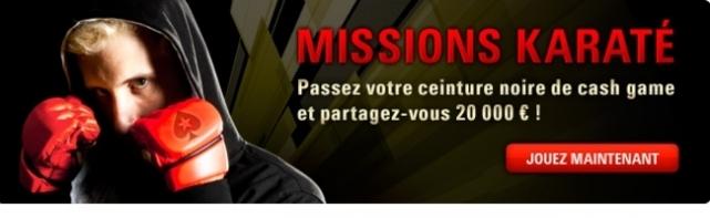 Mission Karaté Avec Elky et PokerStars