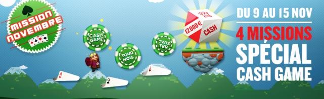 Mission Novembre Avec Everest Poker