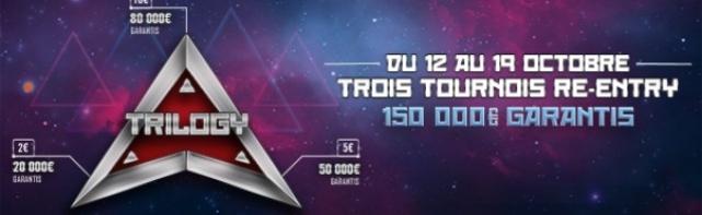 Trilogy Winamax Octobre 2014 : 150 000€ Garantis