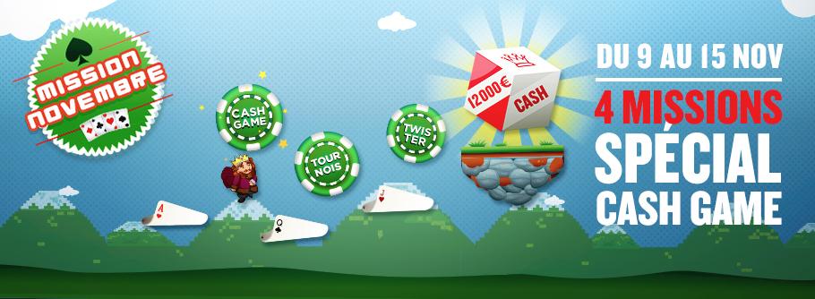 Cash Game Novembre Everest