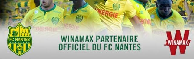 Winamax Partenaire du FC Nantes