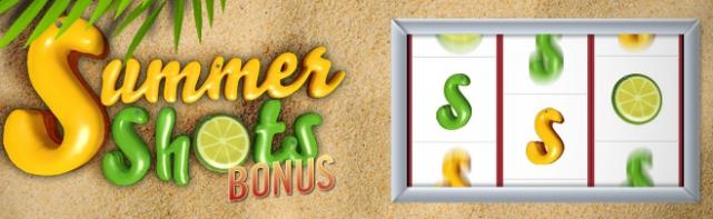 Winamax Summer Shots : Bonus Jackpot