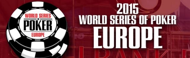 WSOP Europe 2015 : 3 Français Résistent Sur le Monster Stack